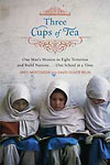 [Book Cover Page: Three Cups of Tea]