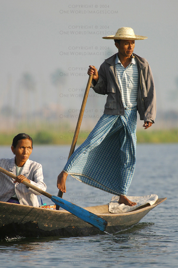 [Photograph: Inle Rower]