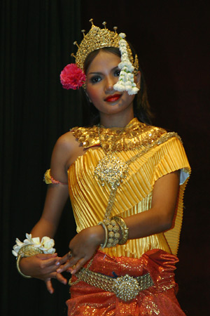 [Photograph: Apsara Dancer]
